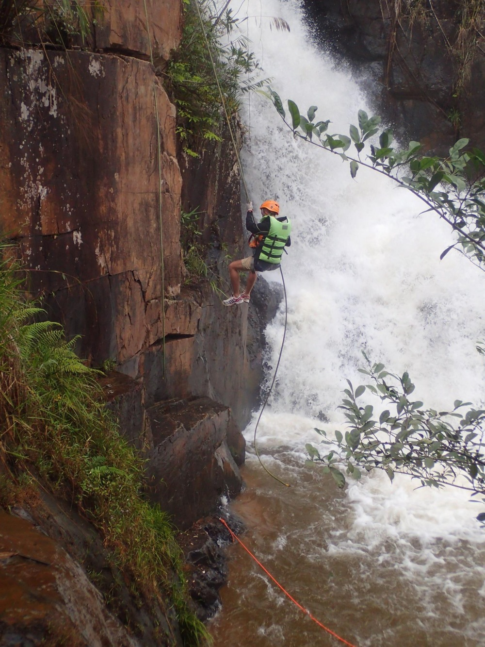 Canyoning in Dalat- Vietnam