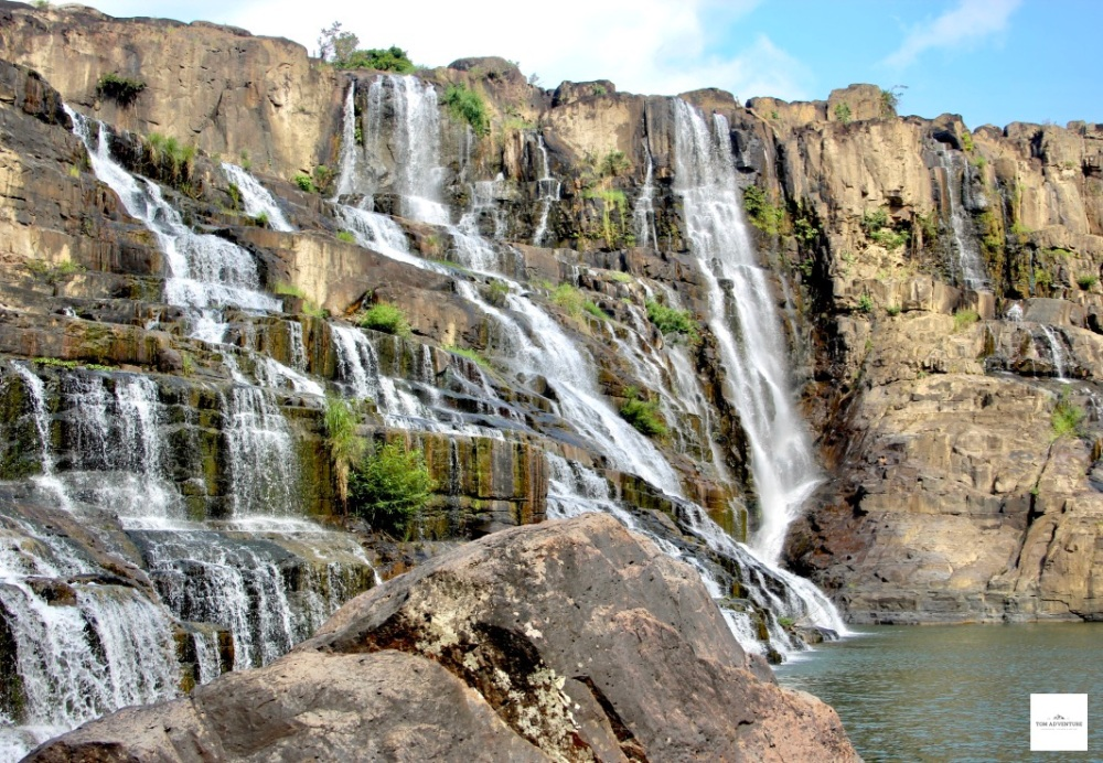 Magnificence of a Waterfall- Dalat- Vietnam